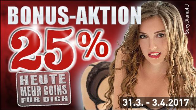 25% Bonus bei 777 Livecams