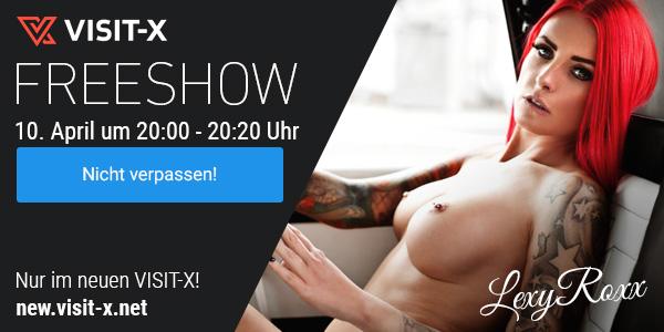 LexyRoxx Freeshow auf Visit-X