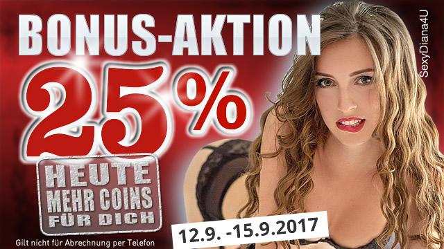 25% Bonus bei JetztLive!