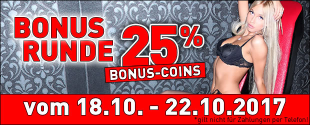 25% Bonus bei JetztLive
