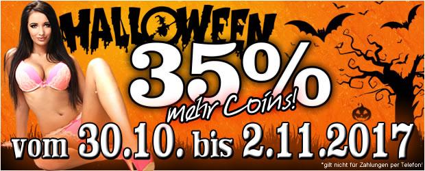 Halloween-Bonus bei JetztLive!
