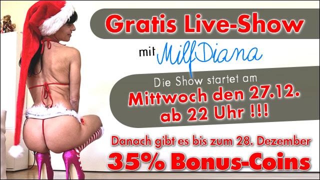 Freeshow mit MILF-Diana