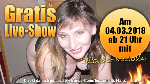 Freeshow mit Blonde Natalie