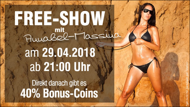 Freeshow mit Annabel Massina
