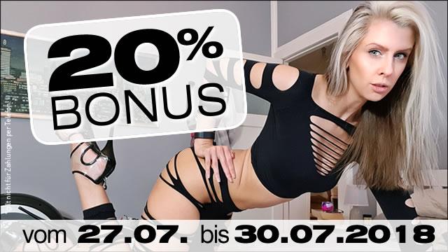 20% Bonus bei 777Livecams