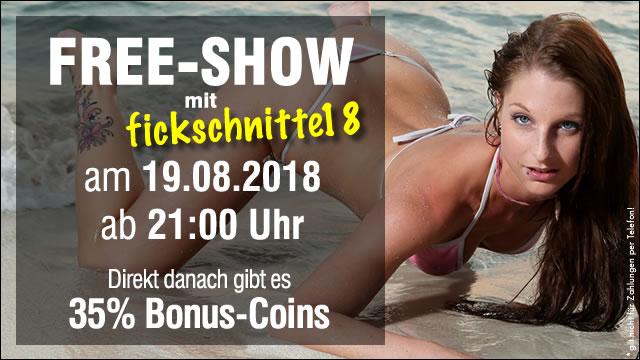 Kostenlose Liveshow mit Fickschnitte18