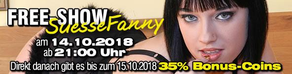 "Free-Show mit ""SuesseFanny"""