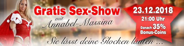 Gratis-Sex-Show mit Annabel Massina