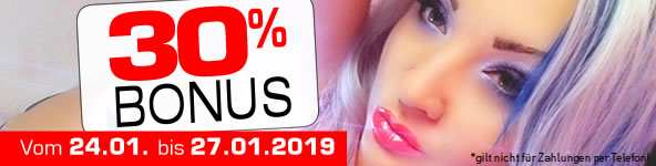 30% Bonus bei JetztLive!