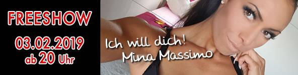 Kostenlose Show mit Mina Massimo